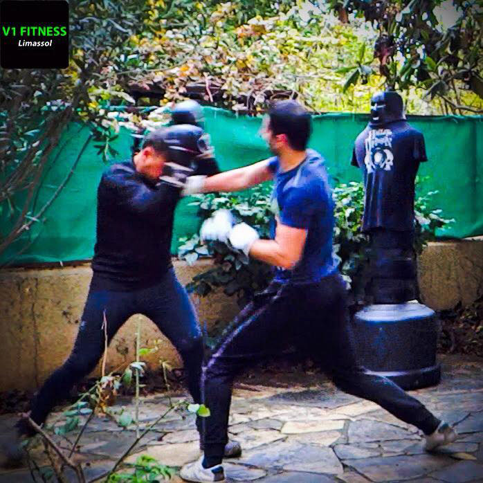mens fight self defense sparring limassol