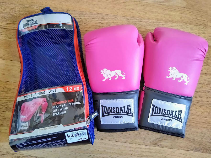 pink boxing gloves cyprus